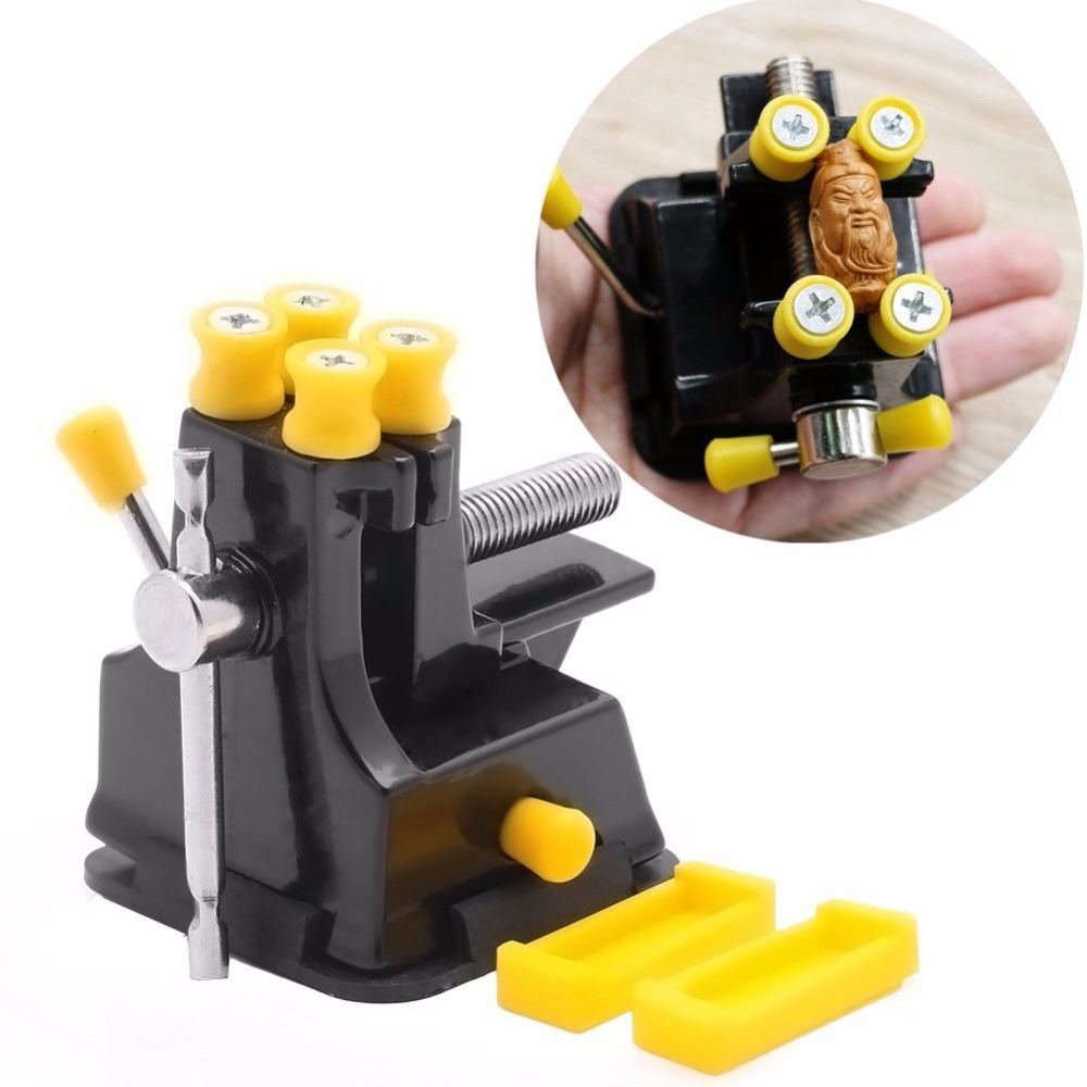 Mini Suction Vise DIY Jewelry Craft Mould Vice Stand Fixed Repair Hand Tool Workbenches